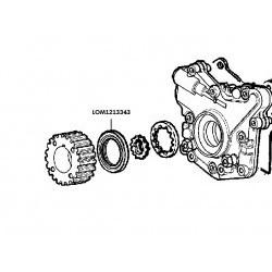 Keerring krukas Lombardini FOCS502, distributiezijde