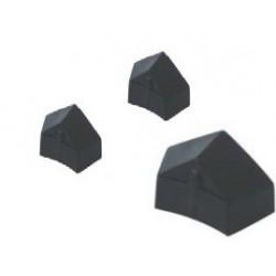 Koolstofschoenenset, oud model, zwart, (3 stuks)