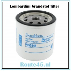 Branstof filter Lombardini (2175.045) Donnadson P550345